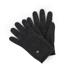 Gloves Paule - Black chiné