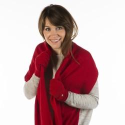 Gloves Paule - Red