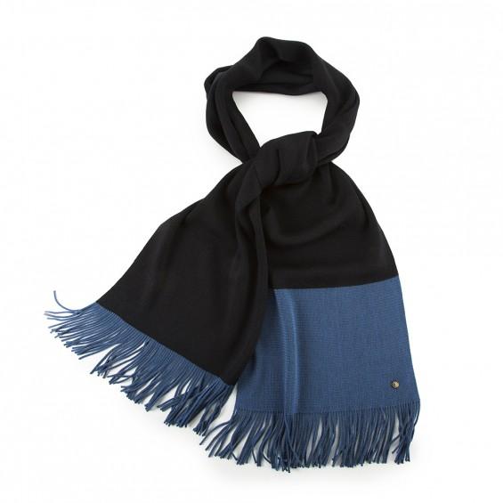 Echarpe Samule Gris Bleu