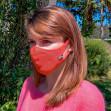 Masque Femme Hippocrate Corail