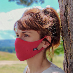 Masque Femme Hippocrate Pivoine