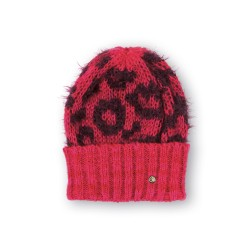 Bonnet Charlotte Bordeaux/Rouge