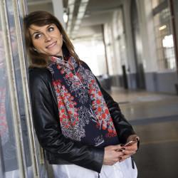 Echarpe Adrienne Gris Poussin