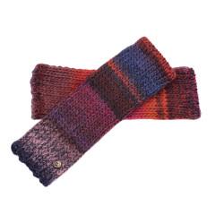 Fingerless Gloves Rafael - Blue/Light Purple