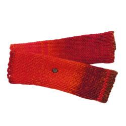 Fingerless Gloves Rafael - Pink/Orange