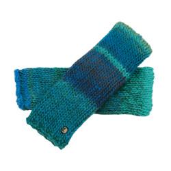 Fingerless Gloves Rafael - Blue/Green