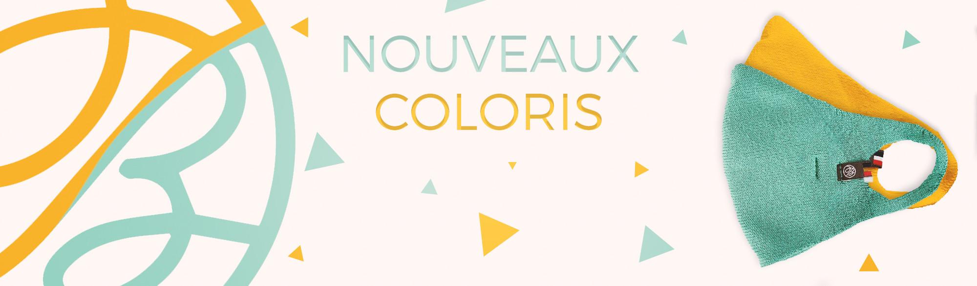 nouveaux coloris